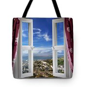 View To The World Tote Bag