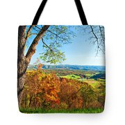 View With Caution Tote Bag