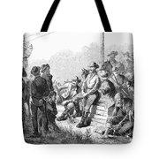 Vigilante Court, 1874 Tote Bag by Granger
