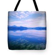 Vignette Lake Pend Orille  Tote Bag
