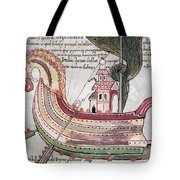 Viking Ship - 10th Century Tote Bag