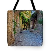 Village Lane Provence France Tote Bag