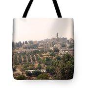 Village Of Beitin Tote Bag