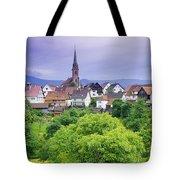 Village Of Rottelsheim, Alsace, France Tote Bag