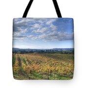 Vines In Fields Tote Bag