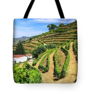 Vineyard Landscape Tote Bag