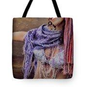 Vintage Belly Dancer Tote Bag
