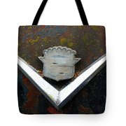 Vintage Caddy Emblem Tote Bag