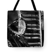 Vintage Car Grill Tote Bag