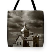 Vintage Church Tote Bag