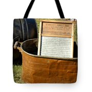 Vintage Copper Wash Tub Tote Bag
