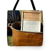 Vintage Copper Wash Tub Tote Bag by LeeAnn McLaneGoetz McLaneGoetzStudioLLCcom