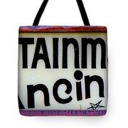 Vintage Dance Sign Tote Bag