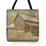 Vintage Davis House Tote Bag