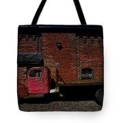Vintage Distillery Truck Tote Bag