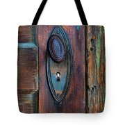Vintage Door Knob Tote Bag