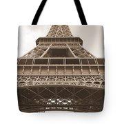 Vintage Eiffel Tower Tote Bag