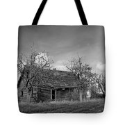 Vintage Farm House Tote Bag