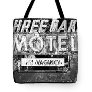 Vintage Florida Motel Tote Bag