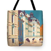 Vintage French Travel Poster Tote Bag