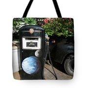 Vintage Gas Pump Tote Bag