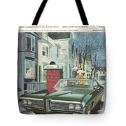 Vintage Gm Pontiac Tote Bag