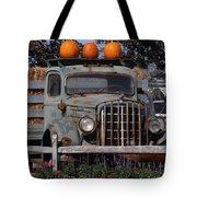 Vintage Harvest Tote Bag