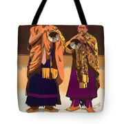 Vintage India Travel Poster Tote Bag