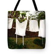 Vintage Laundry Tote Bag