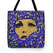 Vintage Mosaic Sign 2 Tote Bag
