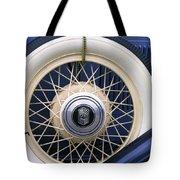 Vintage Nash Tire Tote Bag