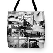 Vintage Niagara Falls Tote Bag