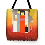 Vintage Oriental Tourist Conference Poster Tote Bag