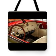 Vintage Packard Interior Tote Bag