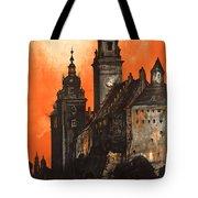 Vintage Poland Travel Poster Tote Bag