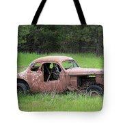 Vintage Racer Tote Bag