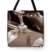Vintage Rolls Royce 1 Tote Bag