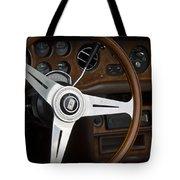 Vintage Rolls Royce Dash Tote Bag