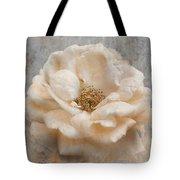 Vintage Rose I Square Tote Bag