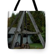 Vintage Stump Puller Tote Bag