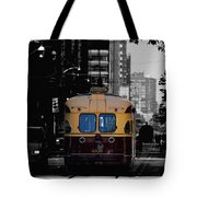 Vintage Trolley Tote Bag
