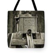 Vintage Water Pump Tote Bag