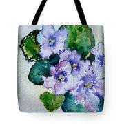 Violet Cluster Tote Bag