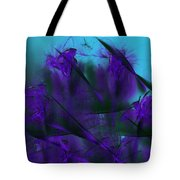 Violet Growth Tote Bag