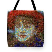 Violet Gumballs Tote Bag