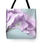 Violet Hydrangea Flower Macro Tote Bag