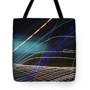 Violet Illusions Tote Bag