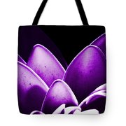 Violet Lotus Tote Bag