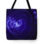 Violet Neon Lights 2 Tote Bag