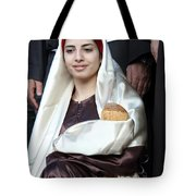 Virgin Mary And Baby Jesus At 4th Annual Christmas March Tote Bag